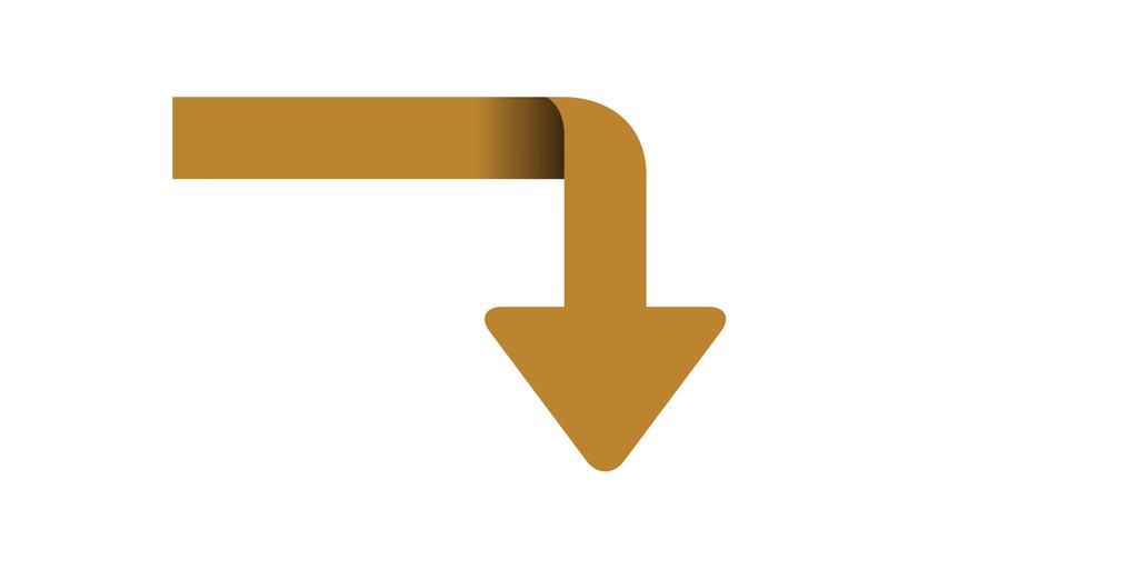Downward Arrow for Blog Header Image