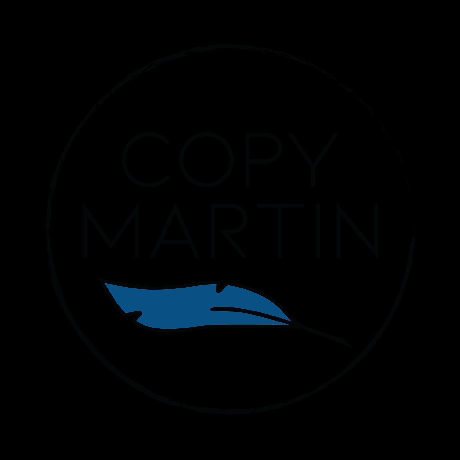 Circular Copy Martin Logo blue