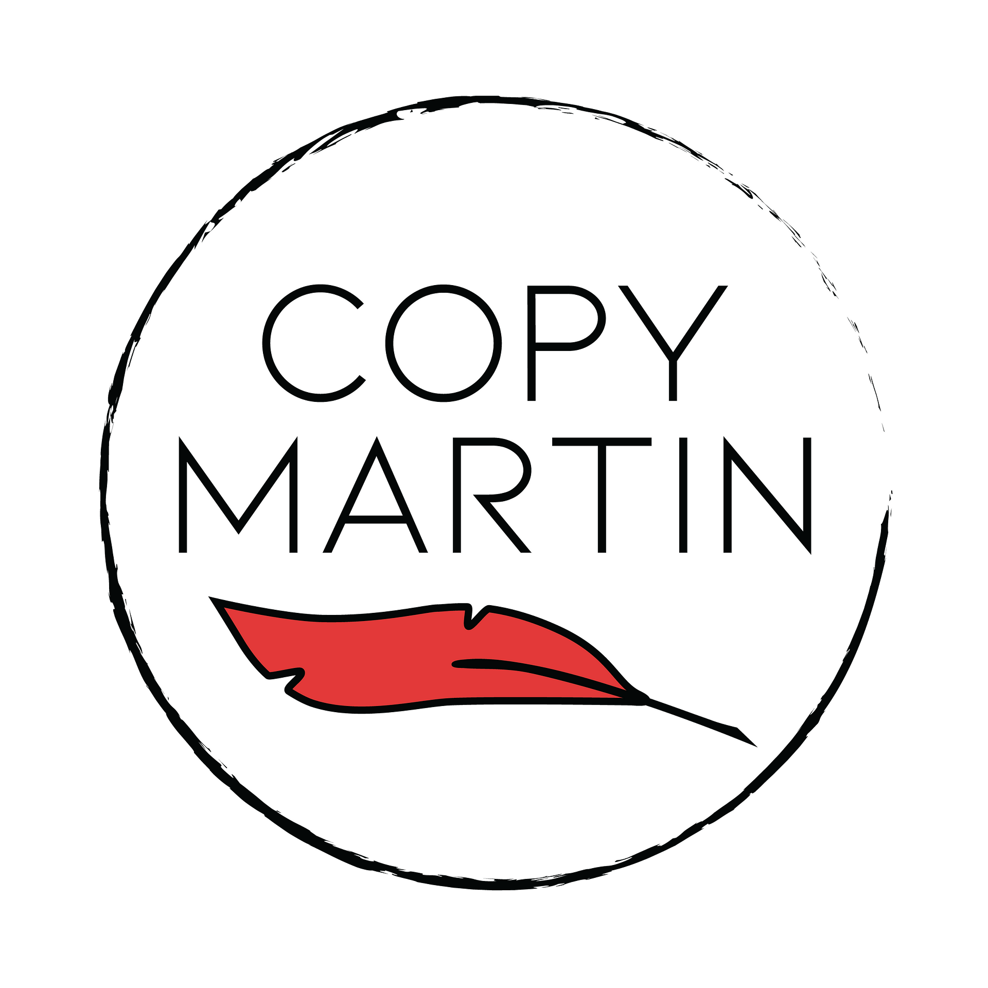Circular Copy Martin Logo red